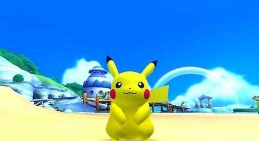 Als Pikachu seid ihr ein weiteres Mal im Poképark unterwegs.