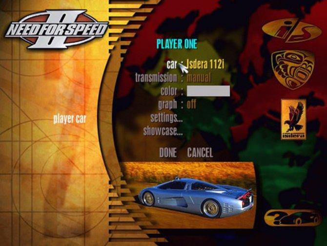 Keine Frage, die Grafik des zweiten Need for Speed konnte ...