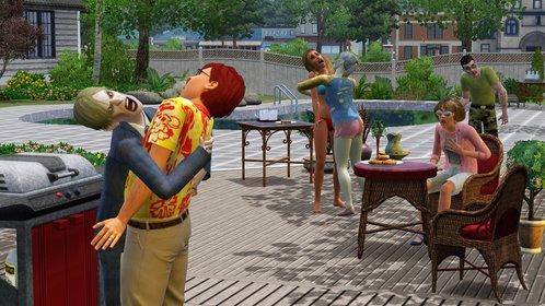 In Die Sims 3 - Supernatural fallen übernatürlich veranlagte Sims über gewöhnliche Sims her. Ein Spaß für die ganze Familie.