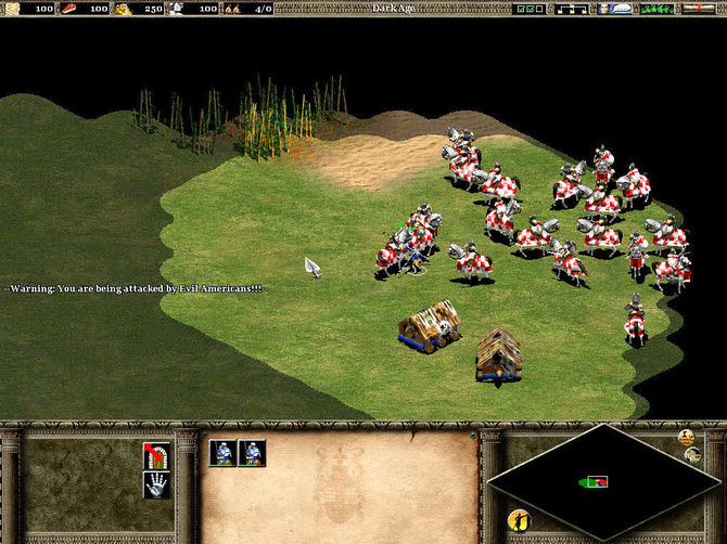 Скриншот к игре Age of Empires II: The Age of Kings.