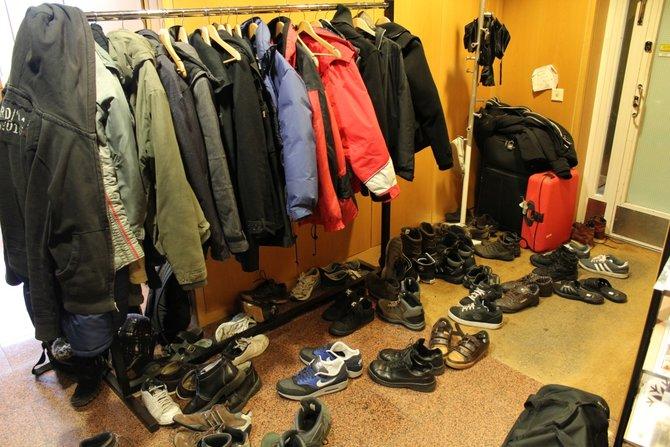 Eine nette Tradition bei Entwickler Red Lynx in Helsinki: Besucher ziehen die Schuhe aus. Zum ...