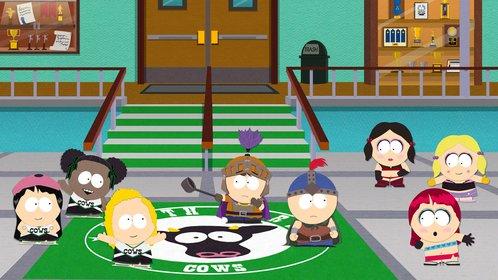 Frisches Bildmaterial aus South Park. Ihr kämpft euch auch durch die Schule ...