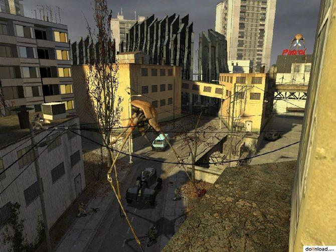 Прохождение Half Life 2 - 1 - Точка внедрения в Скриншотах.