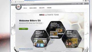 FIFA 13 - Neu in FIFA Ultimate Team / Neuerungen bei den Funktionen