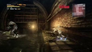 METAL GEAR RISING (Boot Camp 2012) _ Mastiff Kampf-Gameplay