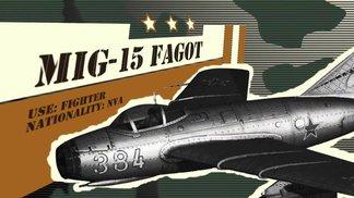 Vietnam Feature Clip  MiG15 & MiG21