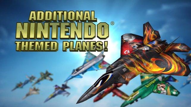 Per Amiibo-Figur gibt es neue Lackierungen für die Kampfjets aus Ace Combat.