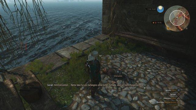 Traurig: Ein Zwerg, der Tyrion Lannister gleicht, findet in der Himmelszelle sein Ende.