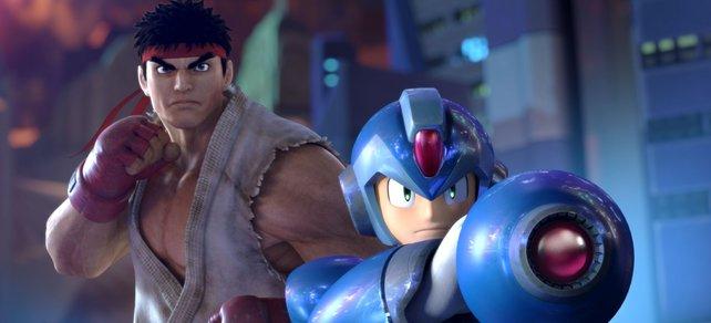 Ryu und Mega Man gehören zu den bekanntesten Charakteren des Capcom-Universums.