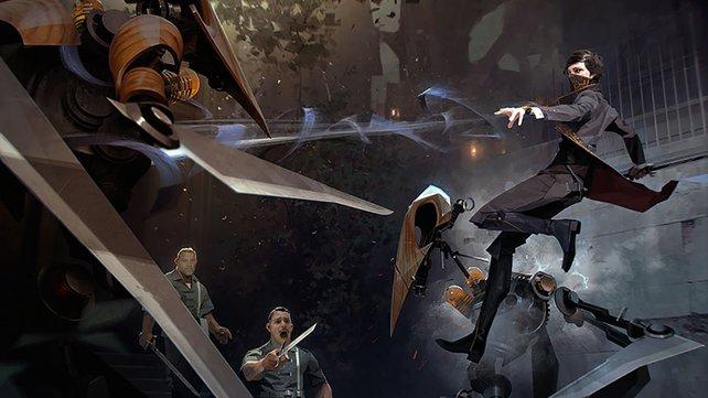 In Dishonored 2 dürft ihr auch mit Emily spielen, die andere Fähigkeiten als Corvo beherrscht.