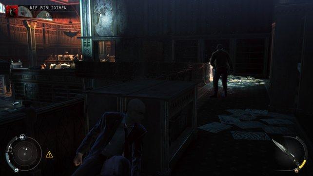 Dank der Dunkelheit könnt ihr den Cops gut ausweichen.