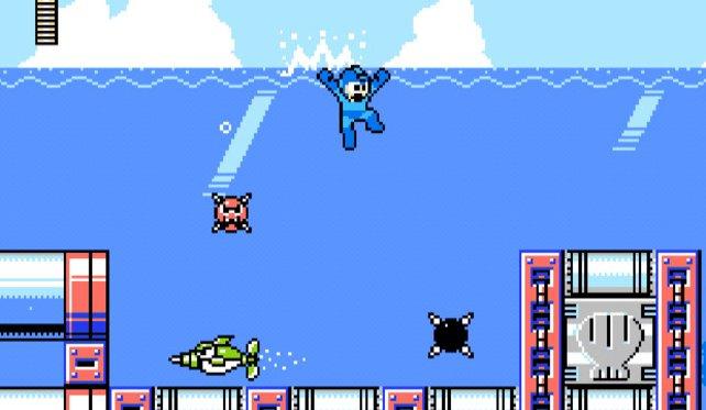 Mega Man 9 sieht aus und klingt wie ein NES-Spiel, bietet aber viele moderne Spieldesign-Ansätze.