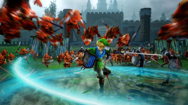 Hyrule Warriors: Auch Link mischt bei den Massenschlachten mittlerweile mit.