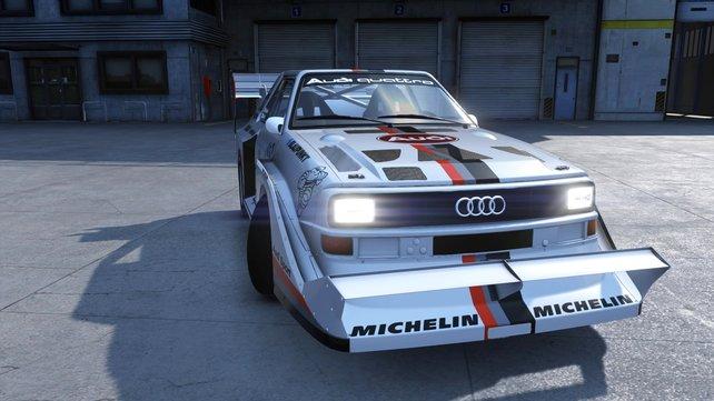 Audi Sport Quattro Rally: Eines der ikonischsten Fahrzeuge des Rallysports.