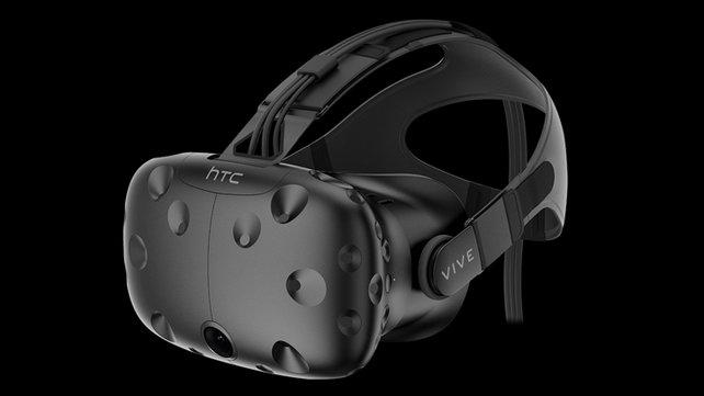 Eine kostspielige Anschaffung: Die Virtual-Reality-Brille HTC Vive