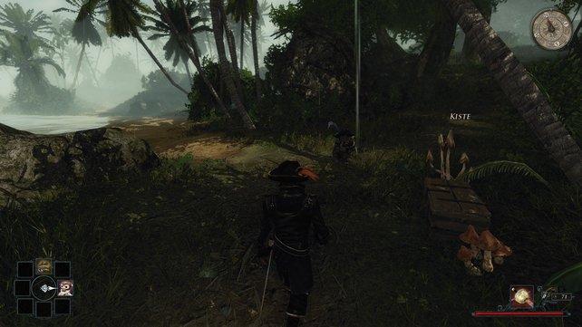 Folgt Jaffar und nehmt aus dieser Kiste die Karte der Insel.