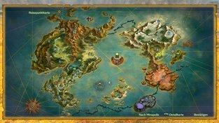 Alle Orte und Gebiete auf der Karte