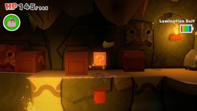 Dieser unsichtbare ?-Block das vermutlich das beste Versteck im ganzen Spiel erhalten.