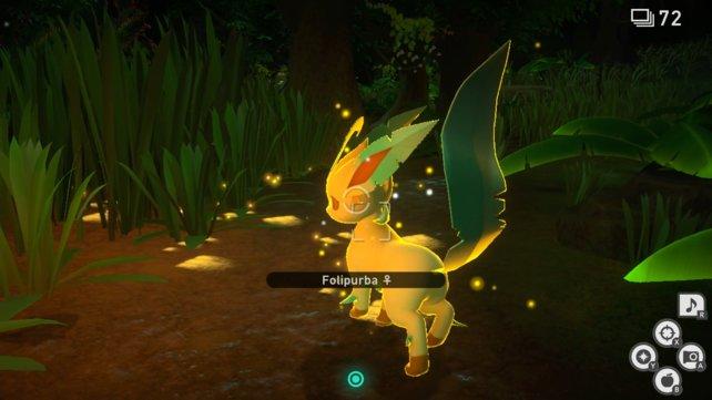 Folipurba im Dichten Dschungel von New Pokémon Snap.