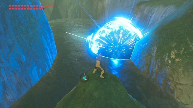 Bomben sind das beste Hilfsmittel in Zelda: Breath of the Wild, um ganz leicht Fische zu fangen.