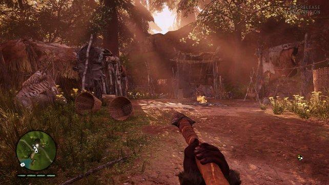 Vor der Jagd solltet ihr passende Waffen und Ausrüstung anfertigen.