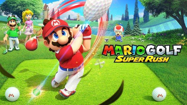 Mitmachen und gewinnen: Wir verlosen ein Exemplar von Mario Golf: Super Rush und ein tolles Merch-Paket.