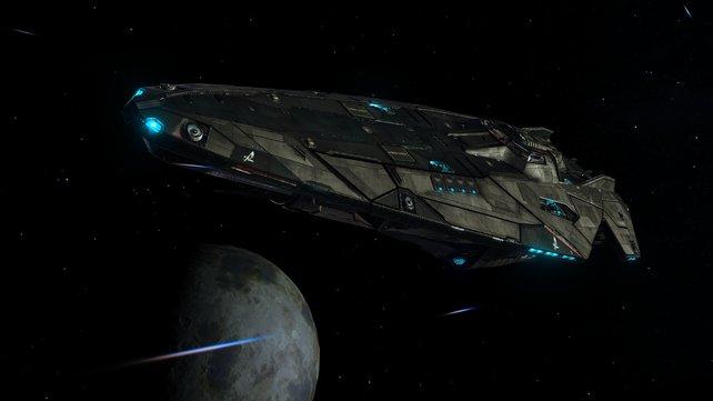 Im All warten kleine wie große, aggressive wie unbewaffnete Schiffe auf euch.
