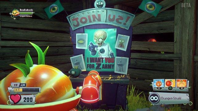 Pflanzen oder Zombies: Dr. Zomboss versucht euch auf die untote Seite zu locken.