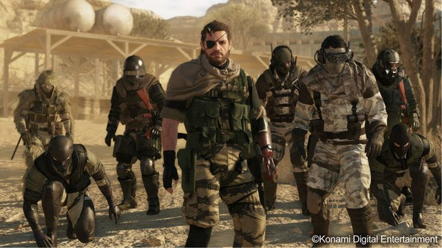 Metal Gear Solid 5 - The Phantom Pain.