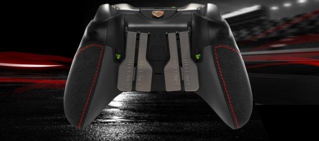 Die Rückseite des Scuf Forza Elite Controller