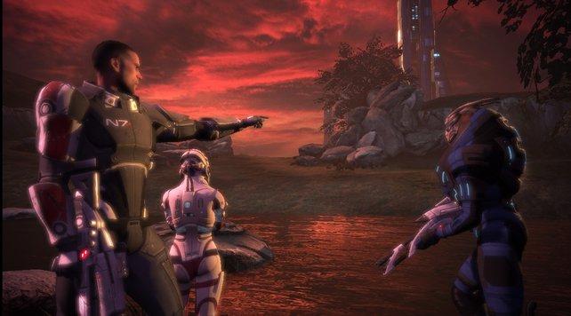 In Mass Effect kann euch eure Crew ebenso schnell ans Herz wachsen wie sie sterben kann.