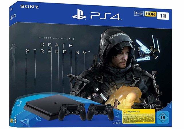Sofort losstarten. Zurzeit könnt ihr eine PS4 Pro zusammen mit Death Stranding abstauben.