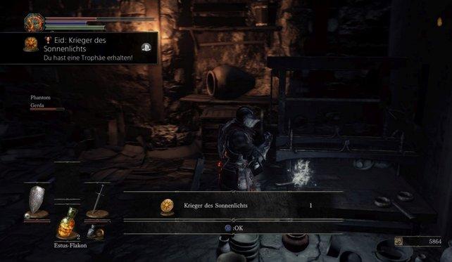 """Der Eid """"Krieger des Sonnenlichts"""" macht euch zu einem wahren Sunbro in Dark Souls 3."""