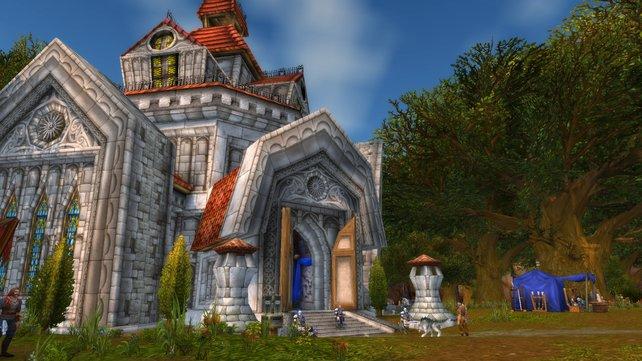 Als Gnom dürft ihr euch leider nicht über solch ein Anwesen wie die Menschen freuen - Ihr startet in Gnomeregan.