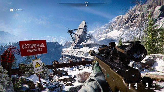 In der Kampagne von Call of Duty: Cold War bereist ihr viele Orte in unterschiedlichen Zeitepochen.