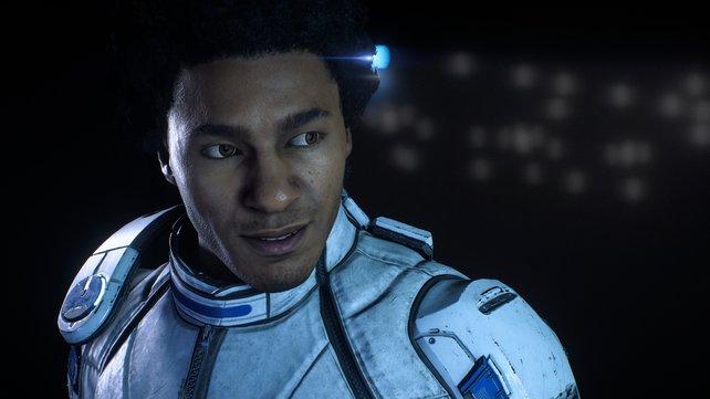 Krisenspezialist Liam ist euer erster Verbündeter in Mass Effect - Andromeda.