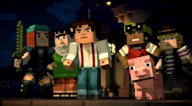 Minecraft - Story Mode: Jesse und seine Freunde treten eine lange Reise an.