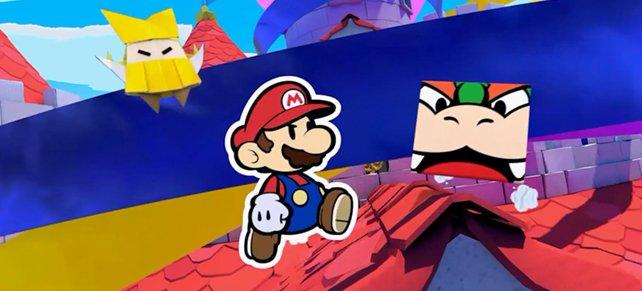 Bowser wird in Paper Mario: The Origami King ebenfalls von Olly attackiert und muss gemeinsam mit Mario fliehen.