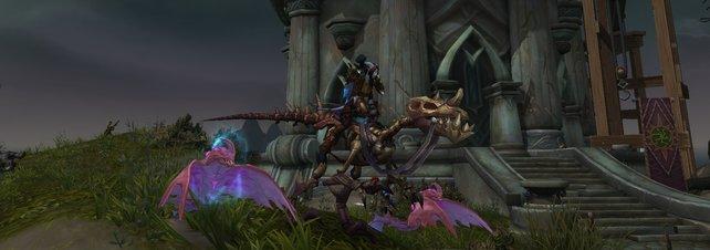 Der Fossible Raptor ist etwas für Fans der untoten Reittiere in World of Warcraft. Ihr benötigt ein wenig Zeit für die Archäologie, um dieses Mount zu erhalten.
