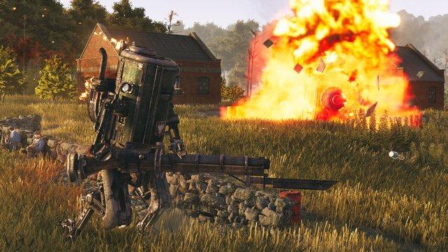Grüne Felder, rostige Roboter: Iron Harvest bietet ein sehr interessantes Szenario. Aber wie viel Taktik-Spaß steckt wirklich drin?