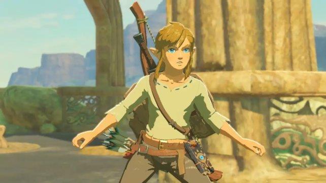 So sieht Link im neuen Zelda aus