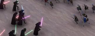Ultimate Epic Battle Simulator: Kampf zwischen Jedis und Rittern