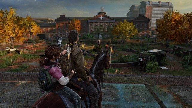 An eindrucksvollen Bildern fehlt es dem Herbst von The Last Of Us nicht. Allerdings ist das Gameplay verbraucht.
