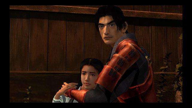 Samanosuke beschützt Prinzessin Yuki. Das geht im ersten Versuch nicht gut aus.