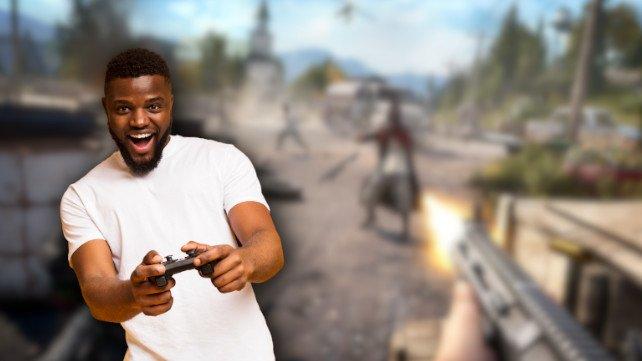 Dieses Wochenende könnt ihr einen Ubisoft-Shooter gratis spielen. (Bildquelle: Prostock-Studio, Getty Images)