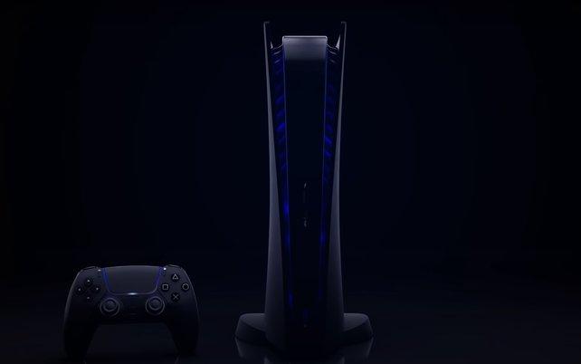 PlayStation 5: Viele Fans wünschen sich eine schwarze Version der Konsole.