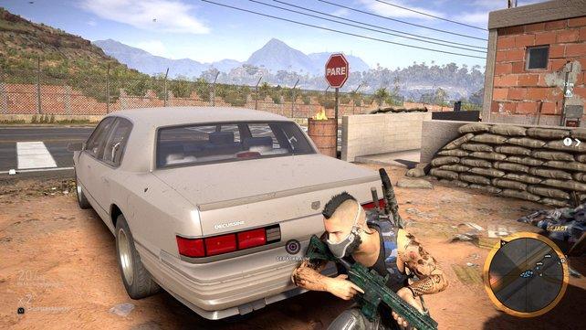 Profi-Tipp in Ghost Recon Wildlands: Nutzt den Kofferraum als Versteck!