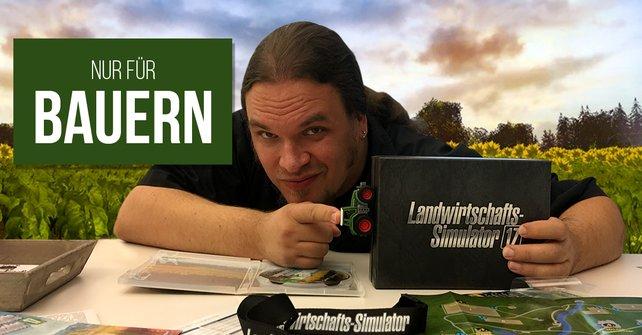Onkel Jo stellt die Sammlerausgabe des LWS 17 bei Uffruppe vor.