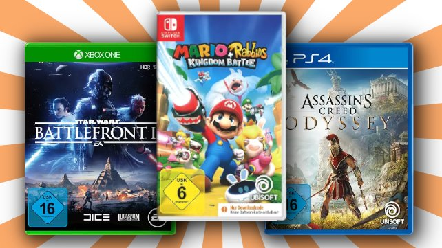 3 für 2: Spiele-Schnäppchen bei MediaMarkt und Saturn.