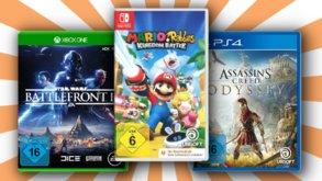 Spiele für PS4, Xbox und Switch im Sparpaket